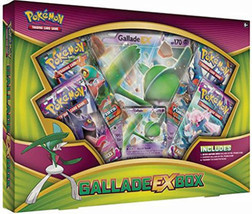 Gallade EX Box Collection POKEMON TCG Cards 4 Booster Packs + Promo Trad... - $19.99