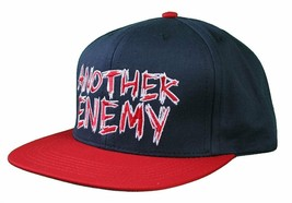 Another Enemy Marineblau Rot Sommer Klassisch Verstellbar Snapback Baseball Hut image 2