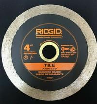 Ridgid 4 in. Continuous Tile Diamond Blade CT40CP - $19.79