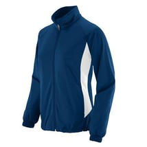 NEW AUGUSTA SPORTSWEAR 4392 LADIES MEDALIST JACKET NAVY/WHITE - $19.99