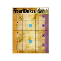 FOUR DUKES is based on a challenging Roman strategy game, 'Ludus Latrunc... - $8.95