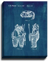 Star Wars Paploo Patent Print Midnight Blue on Canvas - $39.95+