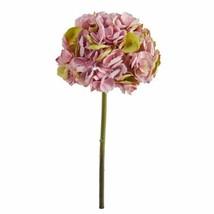 """Modern Green Pink 19? Hydrangea Artificial Flower (Set of 3) - 19"""" - $73.02"""