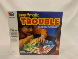 Vintage Popomatic Trouble Board Game 1986 Brand New Sealed Package Made USA - $50.00