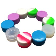 Gentcy Silicone 5ml 100pcs Lots Silicone Container Silicone Jars For - $60.76