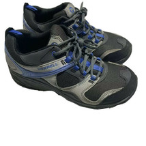 Women's Merrell Size 7.5 US Kimsey Hiking Shoes Low Boots Charcoal Blue ... - $29.99