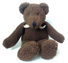 Plush Boyds Babes Teddy Bear Brown 1991 Boyds Collection Nappy Wooly Vin... - $21.95