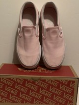 Vans Classic Blush Pink Slip On Loafers Slides Skate Authentic Womens 6.5 - $25.73