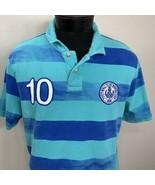 Nike Polo Shirt Barcelona Soccer Football Club FC 10 Covert Sportswear L... - $29.99