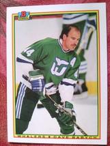 Ice Hockey Bowman 1990 #256 Dave Babych Hartford Whalers - $0.99