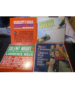 Lawrence Welk My Personal Favorites Christmas Songs 3 Records & 1 Record... - $9.79