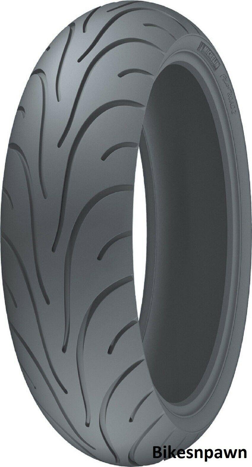 New Michelin Pilot Road 2 160/60ZR17 Rear TL Radial Motorcycle Tire 69W 17793