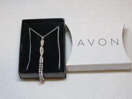 Ladies Womens Avon Irresistibly Sexy Tease Necklace silvertone F3703791 NIP;; - $29.69