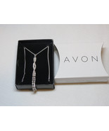Ladies Womens Avon Irresistibly Sexy Tease Necklace silvertone F3703791 ... - $29.69
