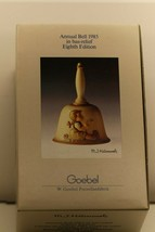 Collectible M J Hummel Eighth Edition Annual Bell 1985 in bas-relief Goebel - $15.13
