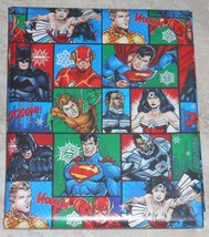 DC Comics Justice League USA Christmas Wrapping PAPER 20 SQ FT ROLL - $4.75