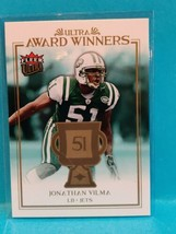 2006 Fleer Ultra Award Winners Jonathan Vilma Card #UAA-JV - NY Jets Odd... - $1.05