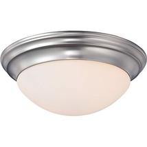 Quoizel SMT1614BN Summit Flush Mount Ceiling Lighting, 2-Light, 150 Watt... - $127.23