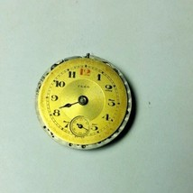 Vintage Cretets CLEO Watch Movement 15 Jewels 2 Adj For Parts Or Repair - $23.36