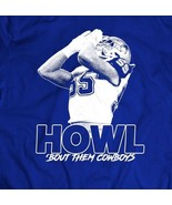 DALLAS ROOKIE LEIGHTON VANDER ESCH *HOWL BOUT THEM COWBOYS MENS T-SHIRT - $24.74+