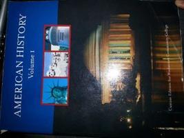 American History, Volume 1, Washtenaw Communnity College [Paperback] [Jan 01, 20