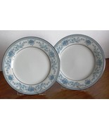 "Noritake BLUE HILL 2 - 6.25"" BREAD & BUTTER PLATES Contemporary China 24... - $11.63"