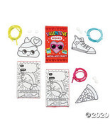 Color Your Own Valentine Necklace with Gift Box Craft Kit - $18.60