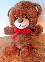"Build a Bear Plush Brown Bear Stuffed Animal Toy 11"" Tall - $5.05"