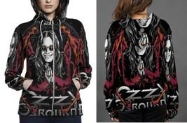Ozzy osbourn hoodie zipper fullprint women thumb200