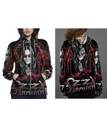 Ozzy osbourn hoodie zipper fullprint women thumbtall