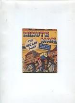 MINUTE MAN  #12 1942-MIGHTY MIDGET COMICS-FAWCETT-VF+ - $113.49
