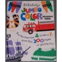 Ed Emberley's Jumbo Color Drawing Book [Paperback] Emberley, Ed - $23.75