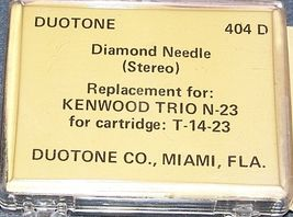 665-D7 TURNTABLE STYLUS ST5 ST-5D fits MG2 MG-2 for Kenwood N-23 T-14 SN-25 image 3