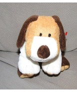 TY PLUFFIES -- WHIFFER THE DOG - BROWN TAN WHITE - 2002 - PLASTIC EYES -... - $45.53