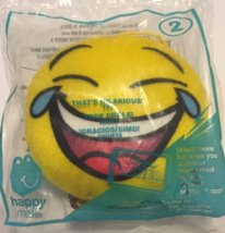 Thats Hilarious! Emoji McDonald's Happy Meal Toy #2 2016 New In Package - $7.96