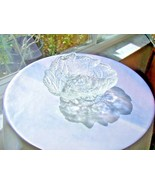 Indiana Glass Vintage Loganberry Pattern Clear Candy Dish c1950's - $8.91