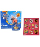 Paw Patrol Mighty Pups Zuma Figure with Light-up Badge and Paws with Sti... - $12.95