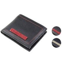 Calvin Klein Ck Men's Leather Billfold Id Wallet With Removable Card Case
