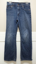 Big Boys LEVI's 527 Blue Jeans Boot Cut 14 Regular 27x27 Young Men's Den... - $9.27