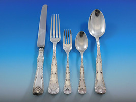 Wave Edge by Tiffany and Co. Sterling Silver Flatware Set Service Dinner... - $4,500.00