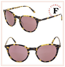 Oliver Peoples BERLUTI Rue Marbeuf Sunglasses OV5353SQ Havana Pink Photo... - $277.20