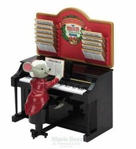 Mr Christmas Maestro Mouse Decor - Magically Plays Piano NEW FREE Fast S... - $56.95
