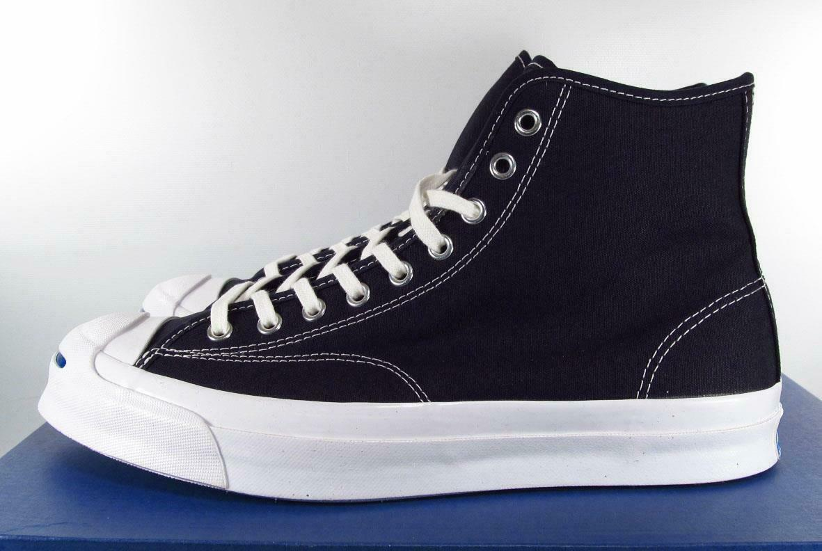 Converse Jack Purcell Signature High Top INKED Blue 153592C (9.5 Women / 8 MEN)