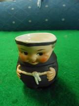 "Vintage Goebel ""Friar Tuck"" Monk Mini Creamer ..S141 2/0 Full BEE-W.Germany - $17.04"