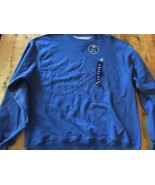 "Champion ""Double Dry"" crew neck Sweatshirt Blue NEW LG NWT - $18.99"