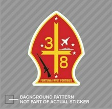 USMC 3Rd Battalion 8Th Usmc V2s Corp 4'' Sticker - $9.89