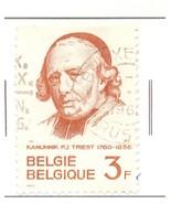 BELGIUM USED STAMP 3F 1968 KANUNNIK PJ TRIEST PORTRAIT PAINTING A676 - $26,44 MXN