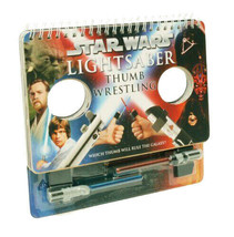 Star Wars Lightsaber Thumb Wrestling: (lightsaber Book Games for Kids, star wars