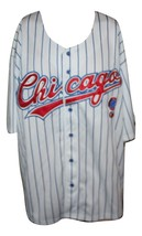 Chicago Cubs White Patch Sewn MLB Baseball Jersey Mens Size 2XL  New W/ ... - $62.99