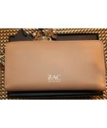 $225 NWT ZAC Zac Posen Eartha Checkbook Leather English Rose Wallet - $129.99